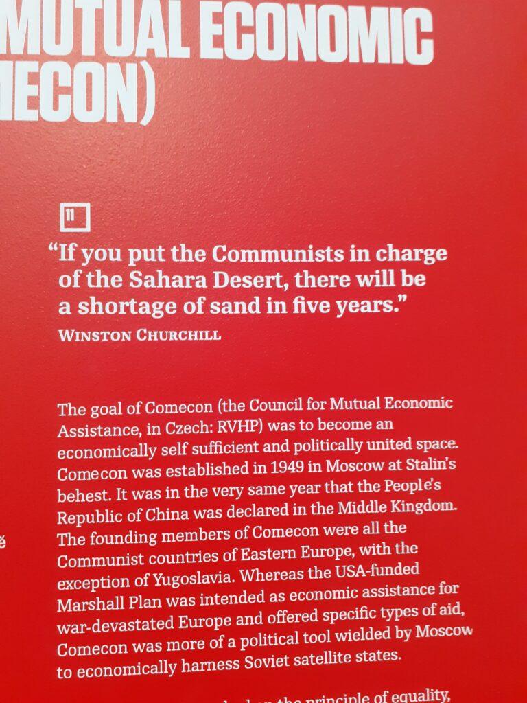 the communism museum in prague