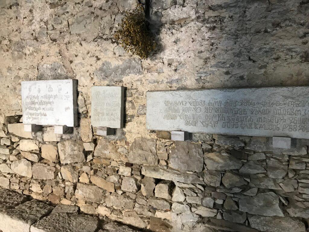 Hum Glagolitic wall writings