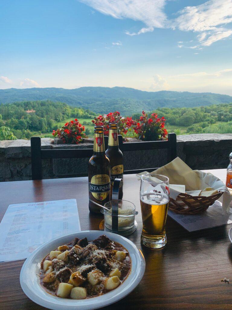 Humska Konoba best restaurant in Hum Croatia