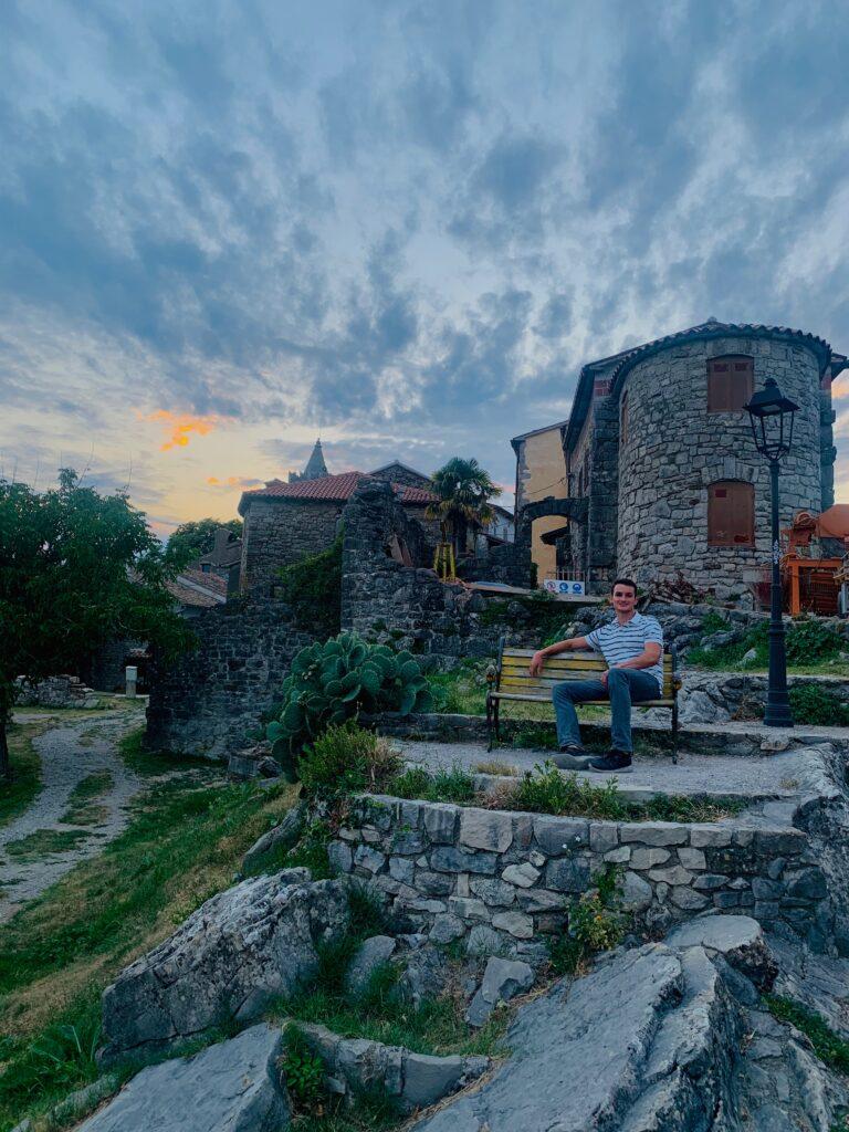 town of hum in croatia